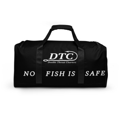 No Fish Is Safe Duffle bag