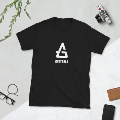 GreyHalo Logo | Short-Sleeve Unisex T-Shirt