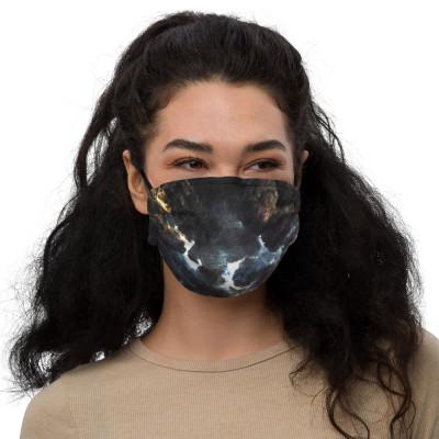 Beautiful Catastrophe | Premium face mask