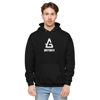 GreyHalo Logo | Unisex fleece hoodie