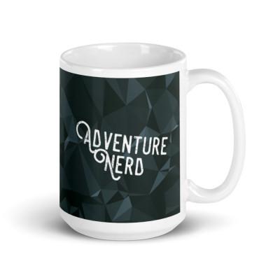 Adventure Nerd | Glossy mug