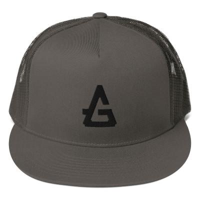 GreyHalo Logo Mesh Back Snapback Hat
