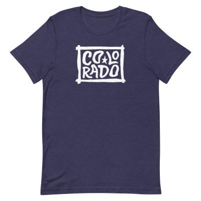 Colorado Shirt, Color, Unisex, Bella + Canvas Premium