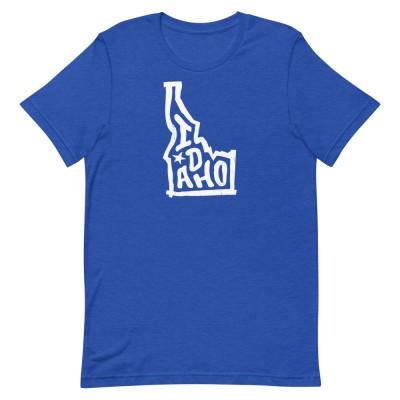 Idaho Shirt, Color, Unisex, Bella + Canvas Premium