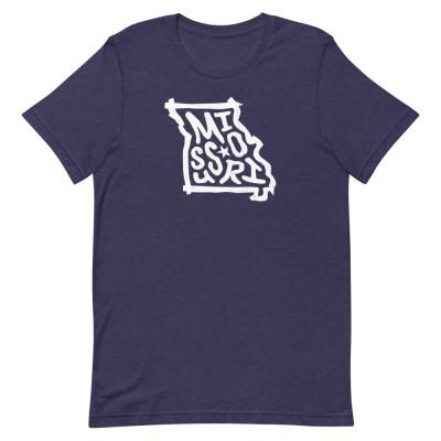 Missouri Shirt, Color, Unisex, Bella + Canvas Premium