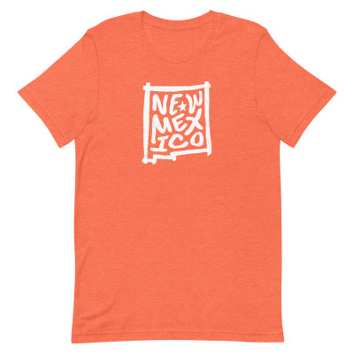 New Mexico Shirt, Color, Unisex, Bella + Canvas Premium
