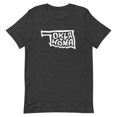 Oklahoma Shirt, Color, Unisex, Bella + Canvas Premium