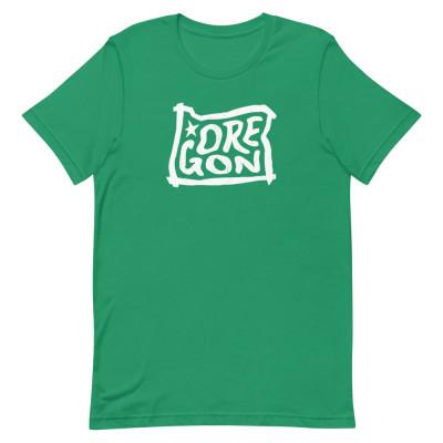 Oregon Shirt, Color, Unisex, Bella + Canvas Premium
