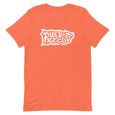 Puerto Rico Shirt, Color, Unisex, Bella + Canvas Premium