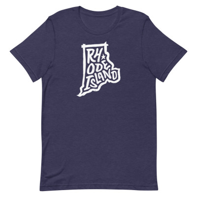 Rhode Island Shirt, Color, Unisex, Bella + Canvas Premium