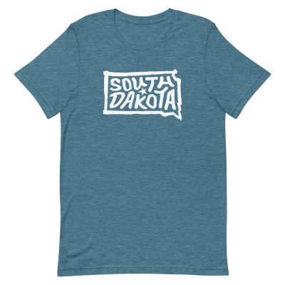 South Dakota Shirt, Color, Unisex, Bella + Canvas Premium