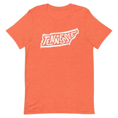 Tennessee Shirt, Color, Unisex, Bella + Canvas Premium