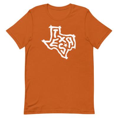 Texas Shirt, Color, Unisex, Bella + Canvas Premium