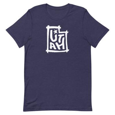 Utah Shirt, Color, Unisex, Bella + Canvas Premium