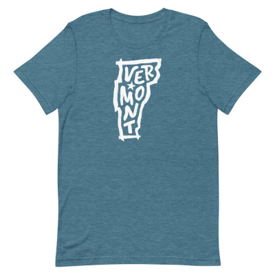 Vermont Shirt, Color, Unisex, Bella + Canvas Premium