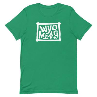 Wyoming Shirt, Color, Unisex, Bella + Canvas Premium