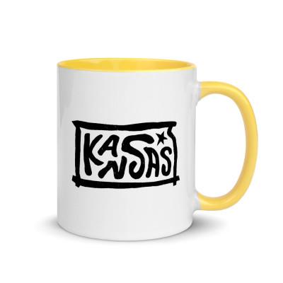Kansas Ceramic Mug with Color Inside