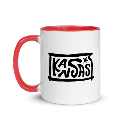 Kansas Ceramic Mug with Color Inside
