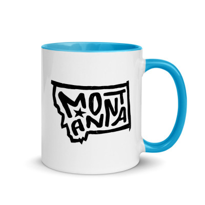 Montana Ceramic Mug with Color Inside
