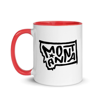Montana Ceramic Mug with Color Inside