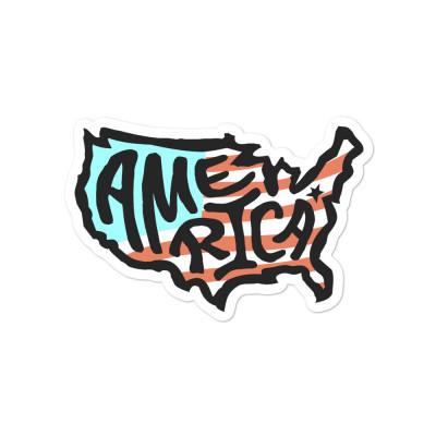 America Sticker, Color