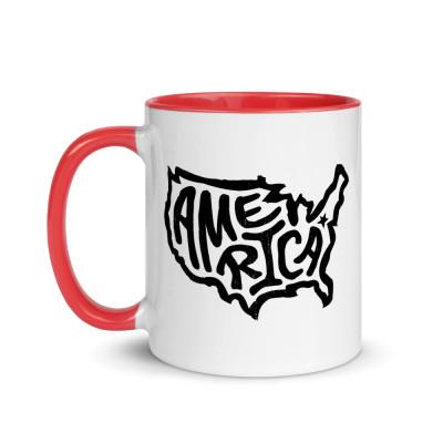 America Ceramic Mug