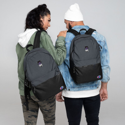 Knaux Embroidered Champion Backpack