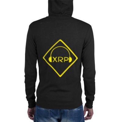 XRP Logo Unisex zip hoodie