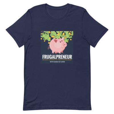 Frugalpreneur Podcast Cover Art Shirt
