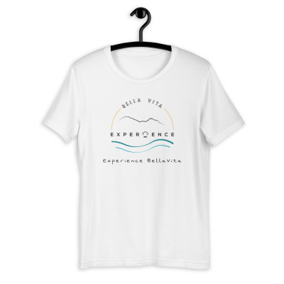 Unisex Short-Sleeve T-Shirt - White & Grey
