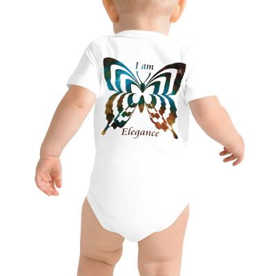 POEFASHION® DESIGN BABY I AM ELEGANCE Royston Golden Glow Butterfly Snap-on Tee
