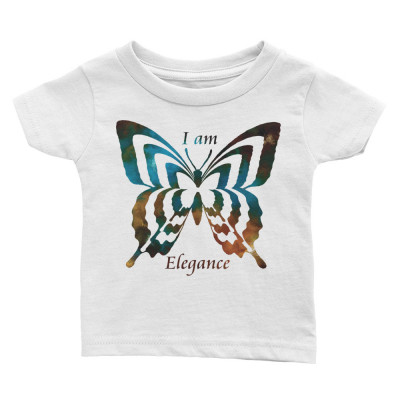POEFASHION® Infant Butterfly Tee - Royston Golden Glow Turquoise Colors