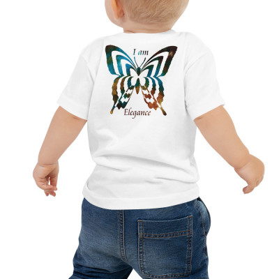 POEFASHION® Baby Royston Golden Glow Turquoise Jersey Short Sleeve Tee