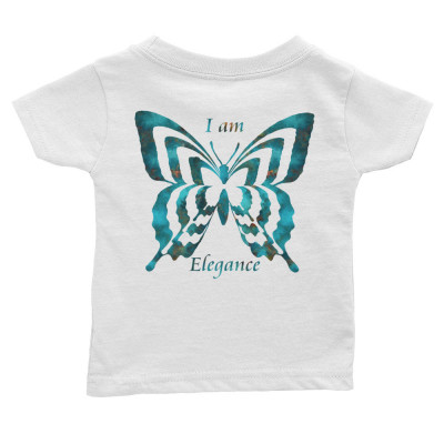 POEFASHION® Royston Blue Copper Butterfly Infant Tee