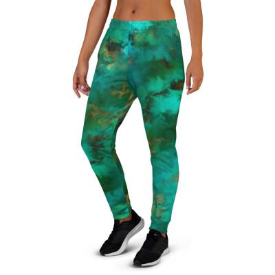 POEFASHION® Royston Pristine Turquoise Women's Joggers