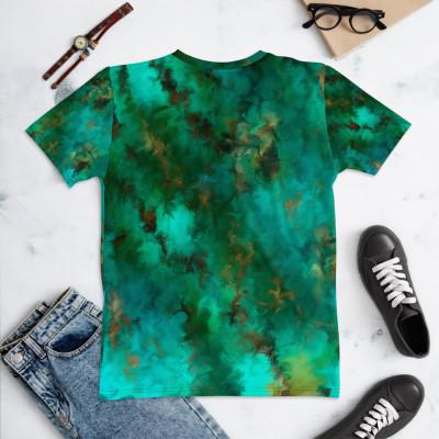 POEFASHION® Royston Pristine Turquoise Women's T-shirt