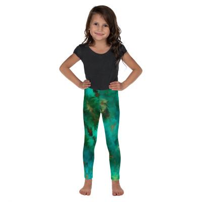 POEFASHION® Royston Pristine Turquoise Little Kid's Leggings