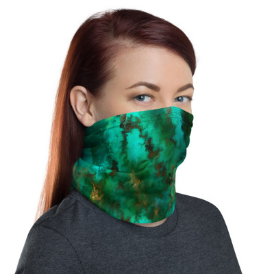 POEFASHION® Royston Pristine Turquoise Neck gaiter