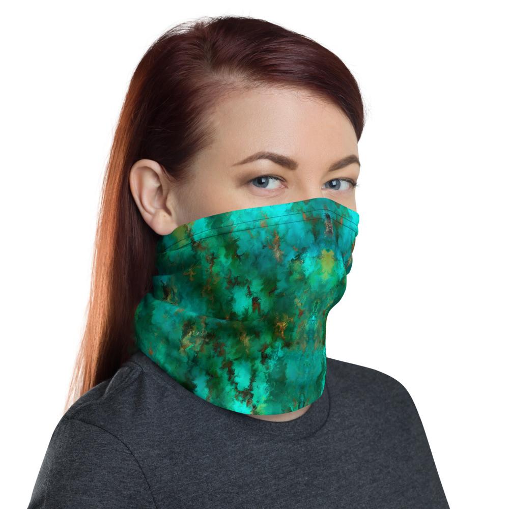 POEFASHION® Royston Pristine Turquoise 2 Neck gaiter