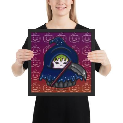 Reaper Cupcake - Framed Poster