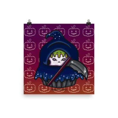 Reaper Cupcake - Poster