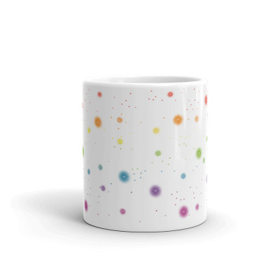 Rainbow Stars - 11oz Mug