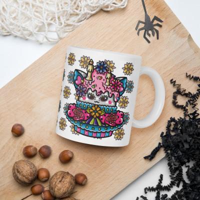 Sugar Skull Cupcake - 11oz Mug