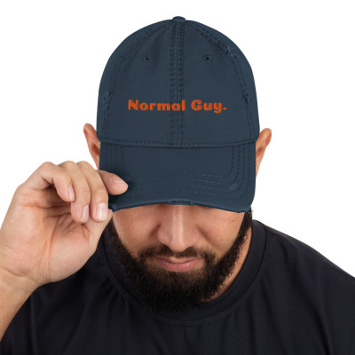 """""""Normal Guy"""" Distressed Dad Hat"""