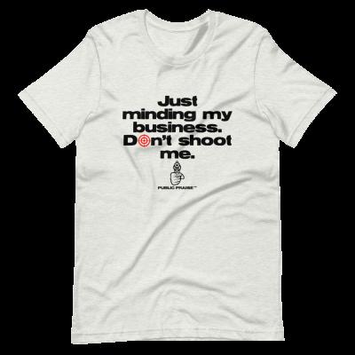 Minding My Business White T-Shirt