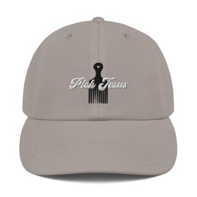 Pick Jesus Champion Dad Hat