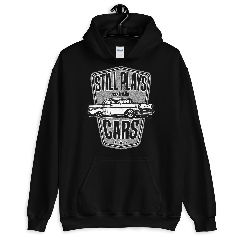 Still Plays With Cars Hoodie Classic '57 Auto