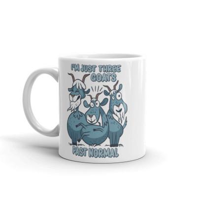 Three Goats Past Normal Mug