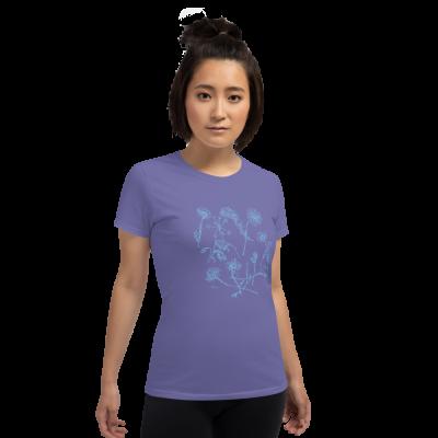 Blue Wildflowers - Women's short sleeve t-shirt