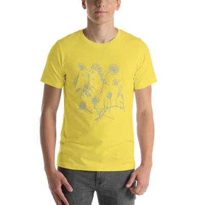 Blue Wildflowers - Short-Sleeve Unisex T-Shirt